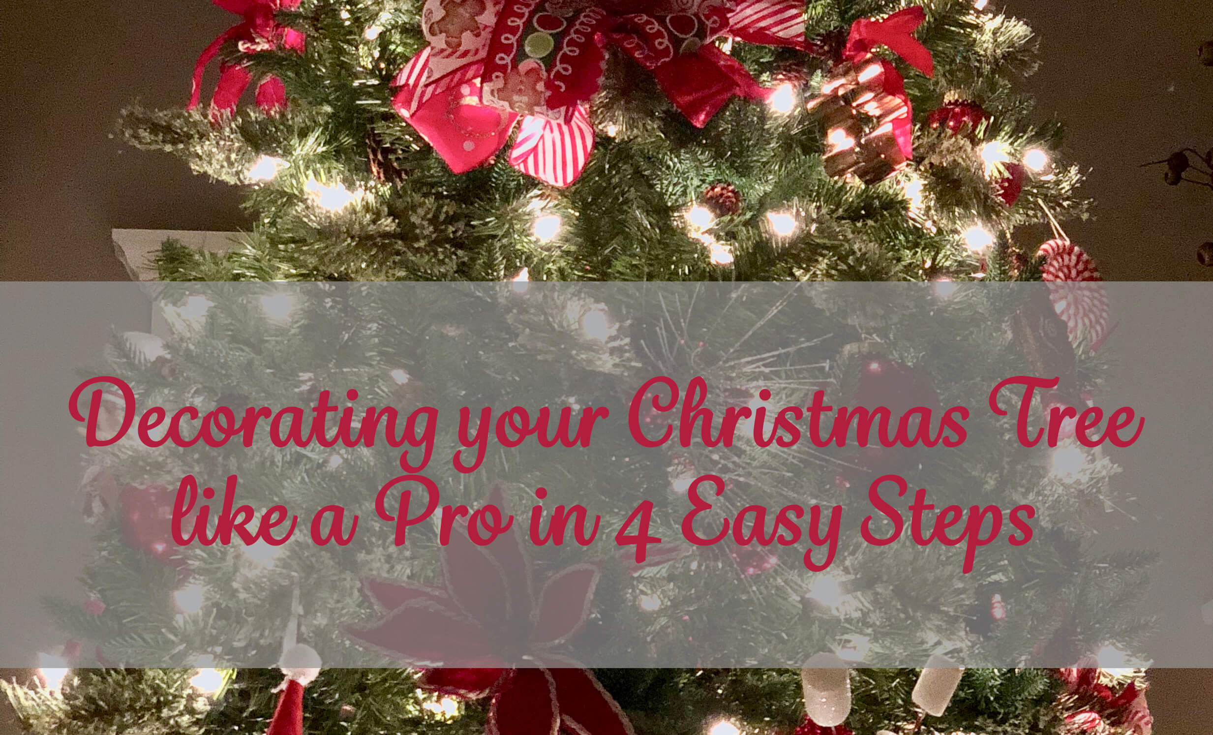 december 13 2017 by z25marketing no comments yet christmas tree christmas tree decorating - Steps To Decorating A Christmas Tree