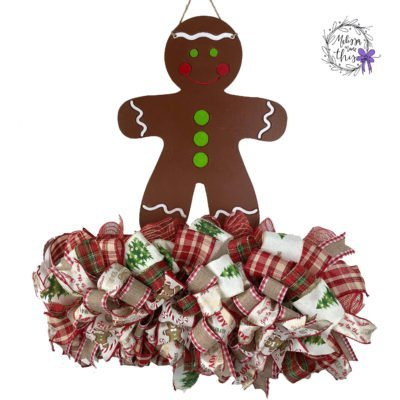 Gingerbread Boy Decor