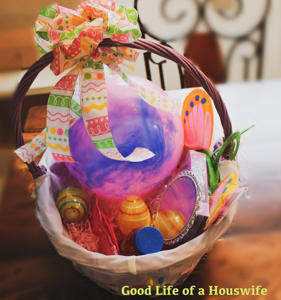DIY Easter Basket Bows